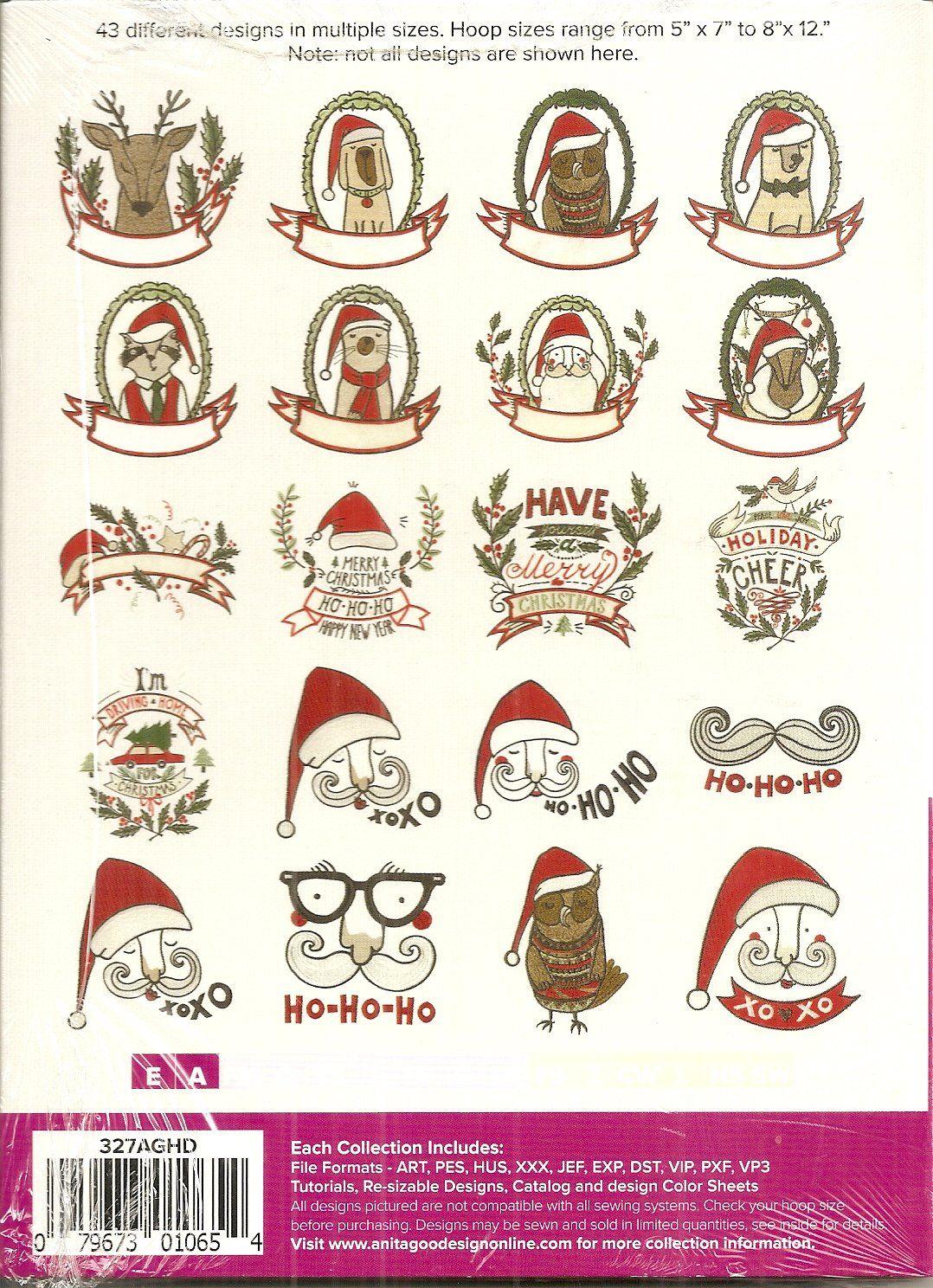 Anita Goodesign Full Collection Christmas Critters