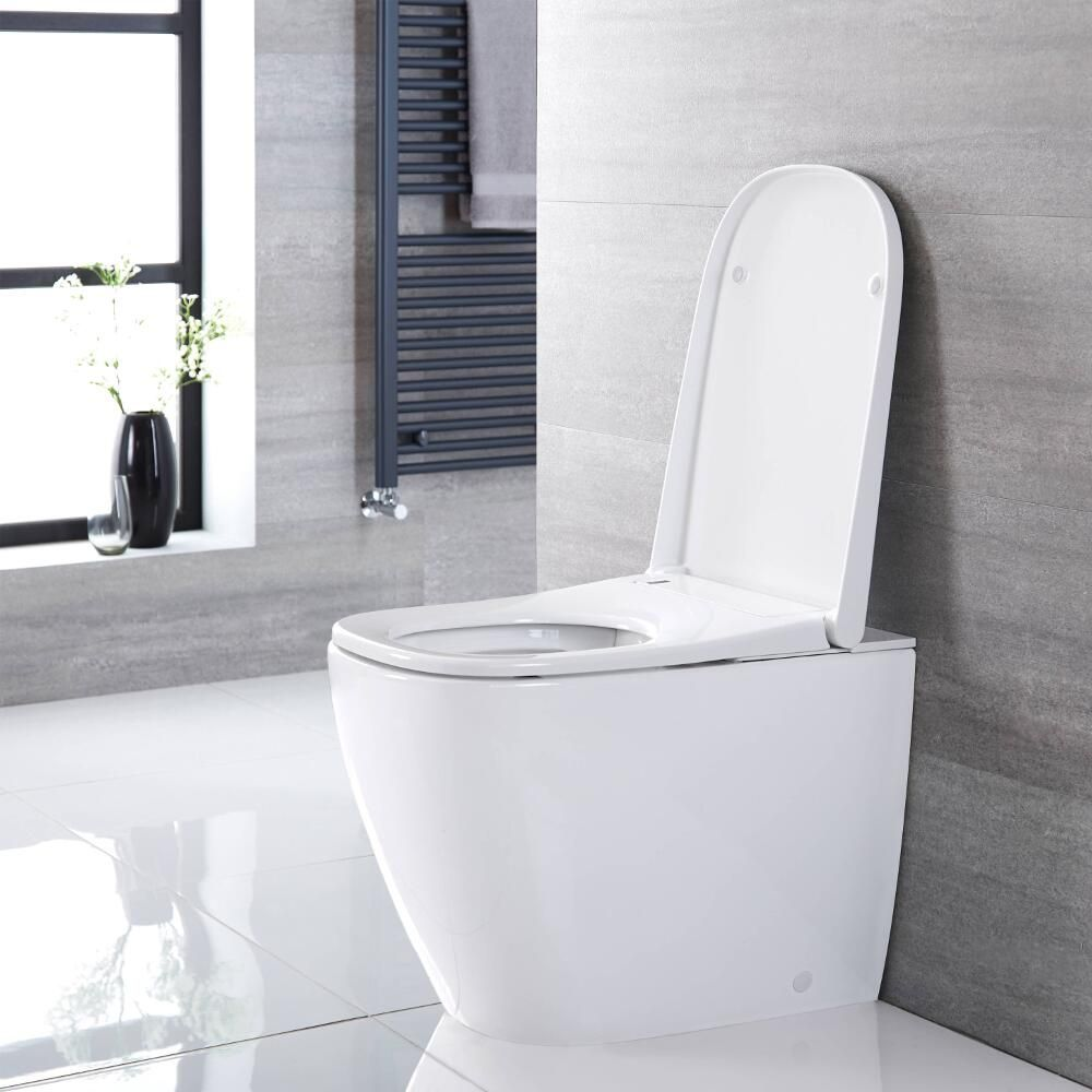 Milano Luxus Back To Wall Japanese Bidet Toilet In 2020 Modern