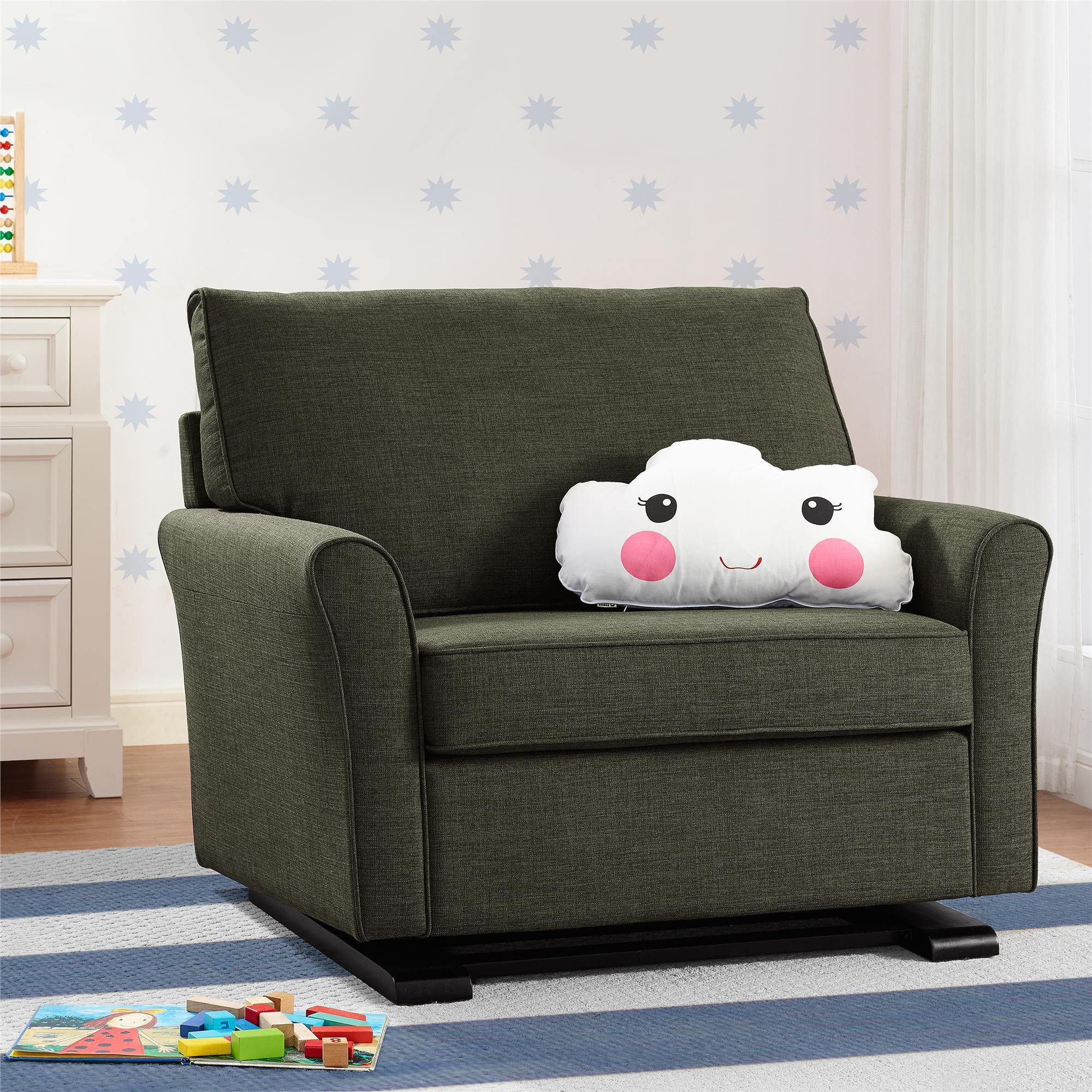 Pin by Babylist Eng on Prod Glider chair, Chair, Floor chair