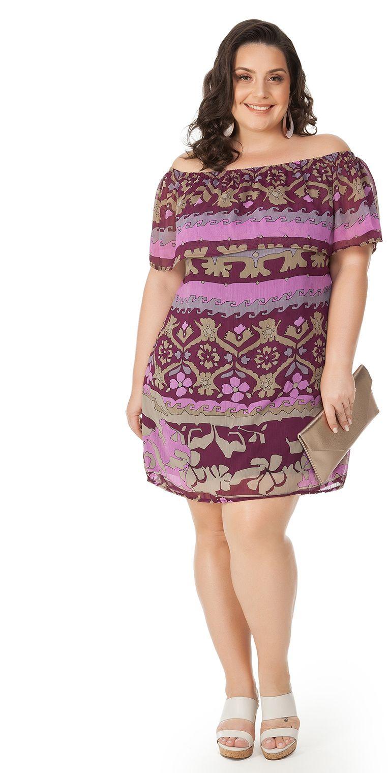 64a5d1238c  estilo  modaplussize  estiloplussize  eusouplus  meuestiloplussize  beline   belineplussize  plussize  vestido  vestidoplussize. Vestido ombro ...