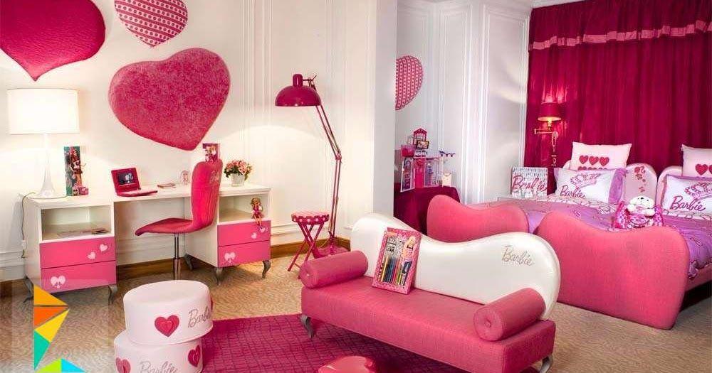 غرف اطفال غرف نوم اطفال ديكورات حوائط ريسبشن طويل اشكال جبس ٢٠١٥ صور جبس اسقف غرف نوم تصميمات خارجية للمنازل Girl Bedroom Decor Barbie Room Girls Room Design