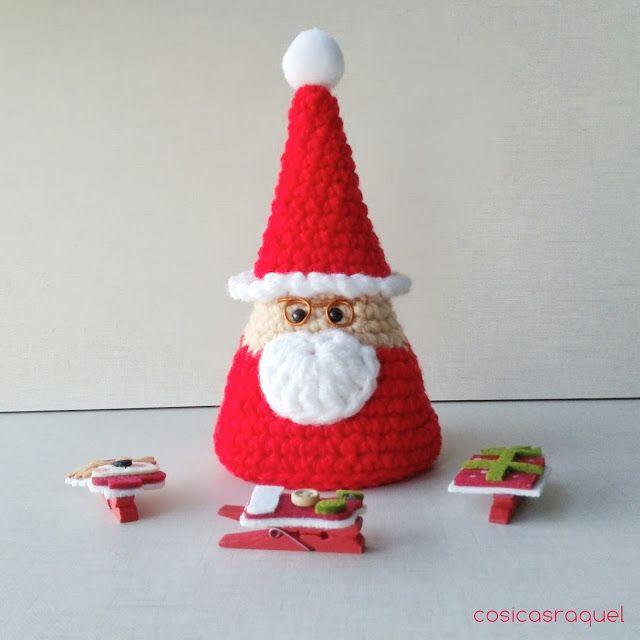 Patrón gratuito Santa Claus Amigurumi/freepattern | Amigurumis ...
