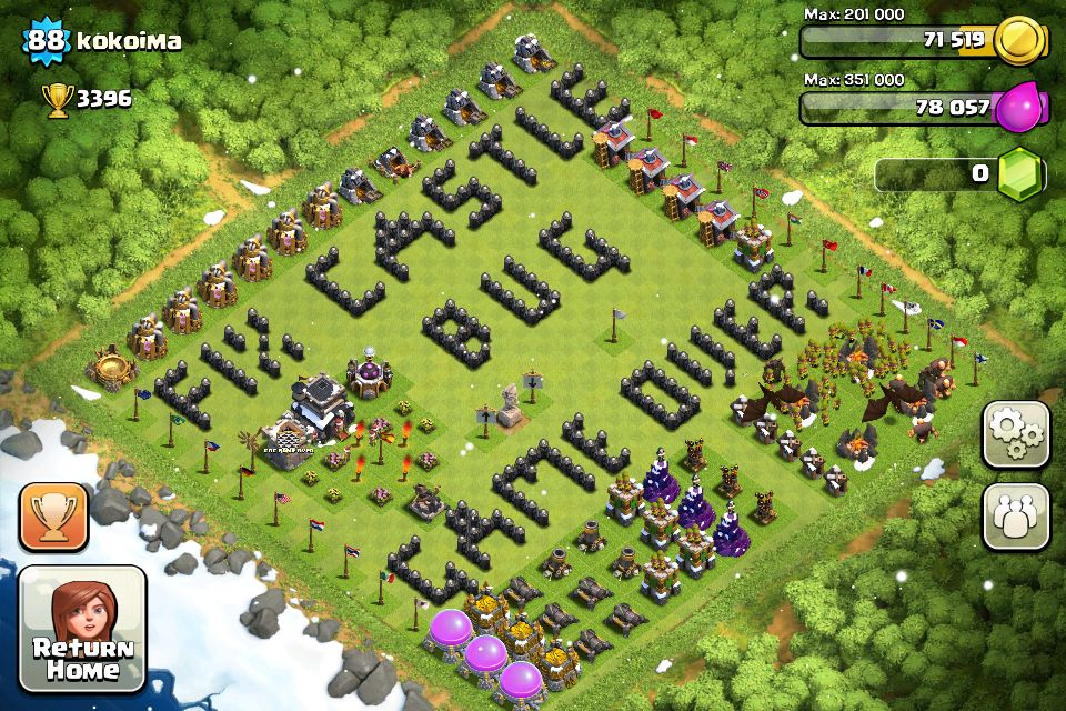 mod pack for clash of clans