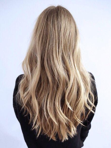 balayage blond dor blondes pinterest cheveux coiffure et coiffure cheveux long. Black Bedroom Furniture Sets. Home Design Ideas