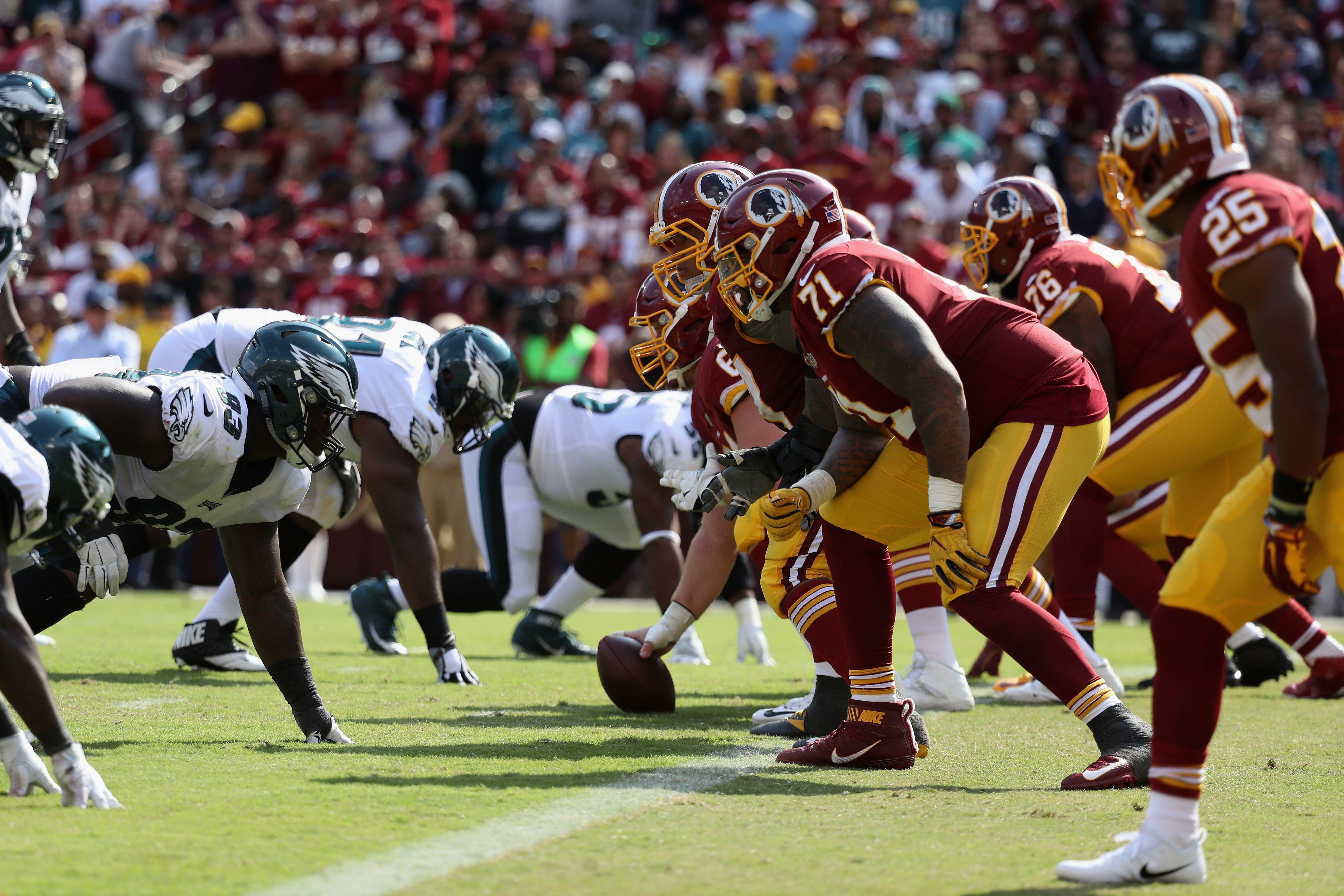 Philadelphia Eagles Versus Washington Redskins How To Watch