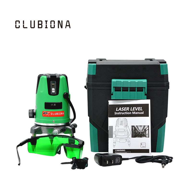 Outdoor Available Slash Functional 2 Green Lines 1v 1h 360 Rotary Auto Construction Cross Laser Line Level Laser Levels