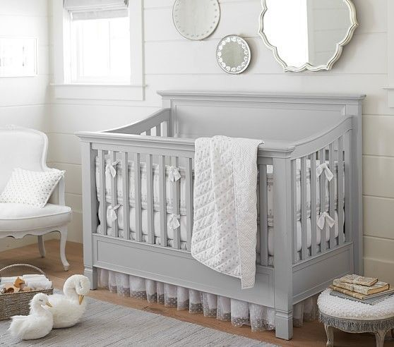 Larkin 4 In 1 Convertible Crib Nursery Bedding Sets Girl