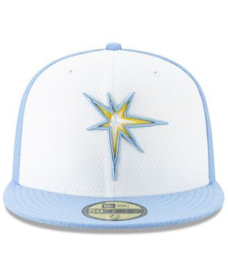 on sale ac937 3f862 New Era Boys  Tampa Bay Rays Batting Practice 59FIFTY Cap - Blue 6 3 4