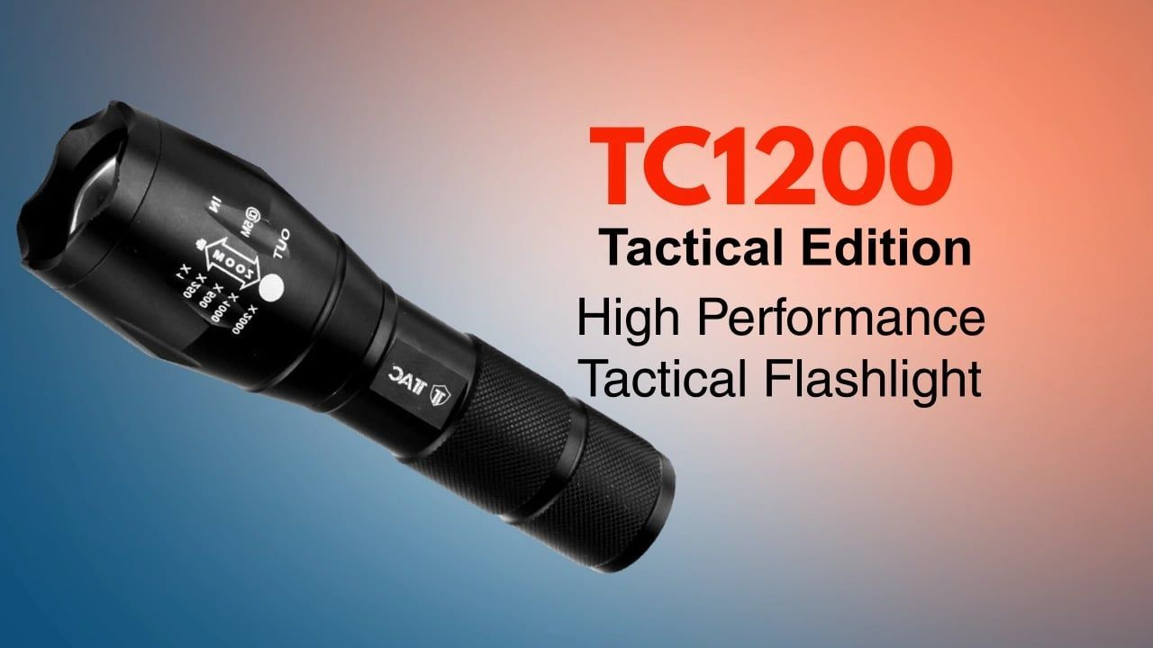 Tac flashlight tc1200