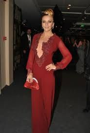 Ivana Sert Fashion Red Formal Dress Formal Dresses