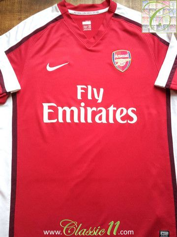 factory price 68c04 0c9ee Relive Arsenal's 2008/2009 season with this vintage Nike ...