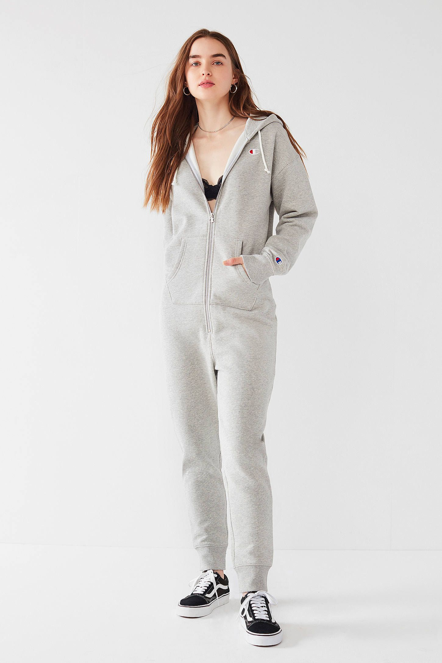 1664cf3477dfd4 Shop Champion & UO Sweatshirt Jumpsuit at Urban Outfitters today. We carry  all the latest styles, colors and brands for you to choose from right here.