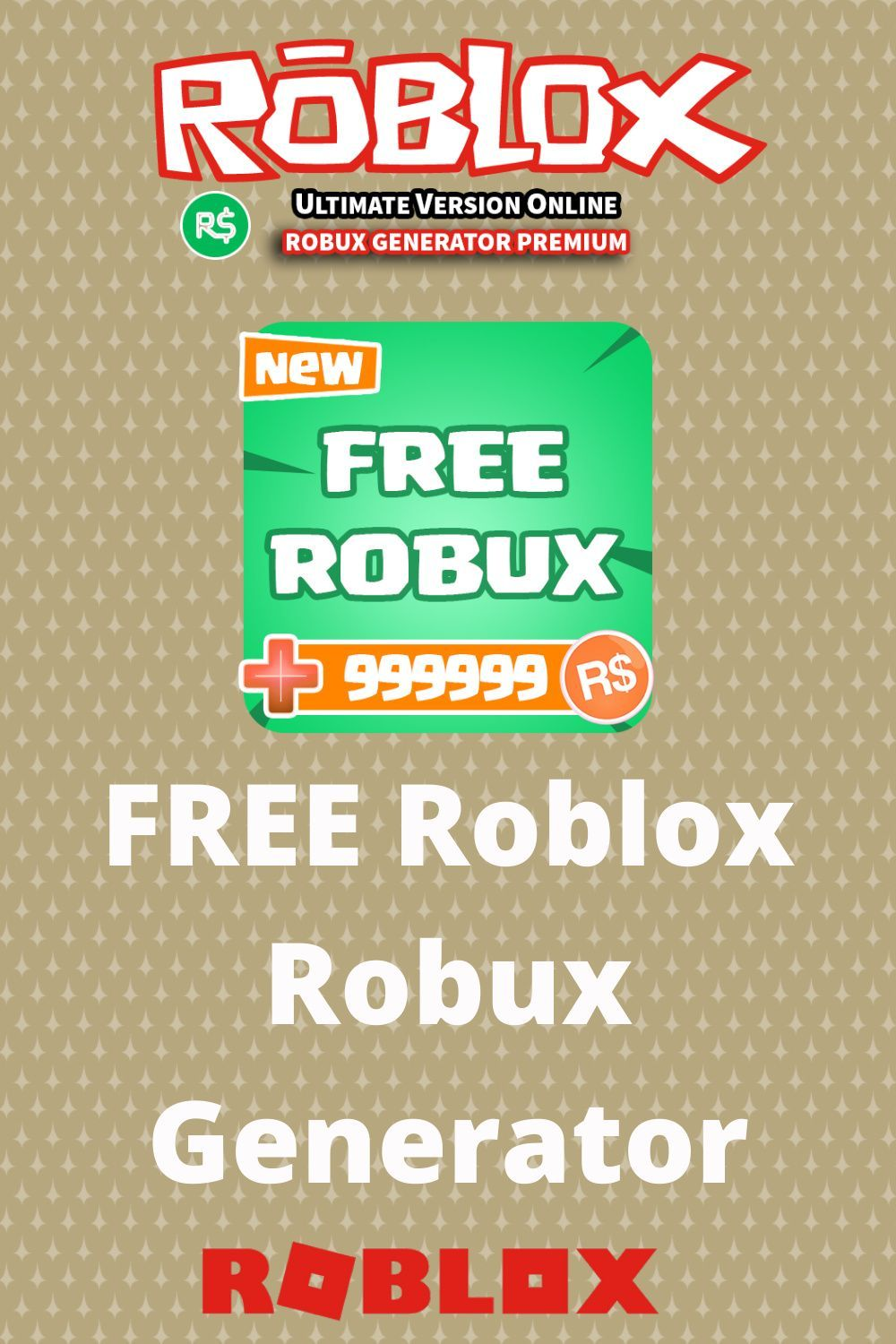 Free Robux Generator iOS, Android, PC in 2020 Roblox