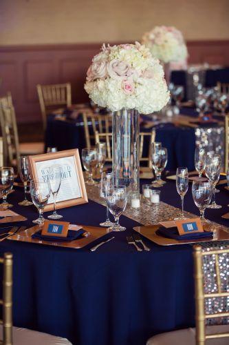 Pin By Allie Gilgenbach On Wedding Blue Gold Wedding