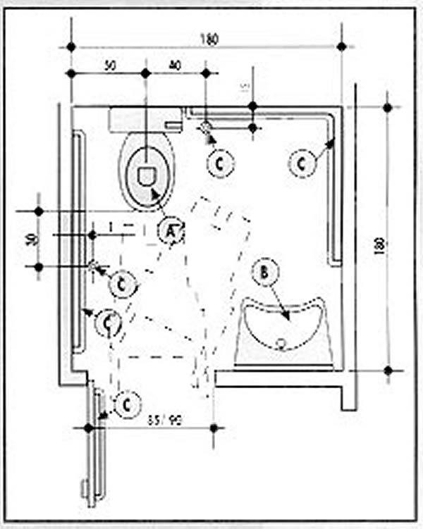 Pin by mukesh mandloi on toilet  Floor plans Diagram Math