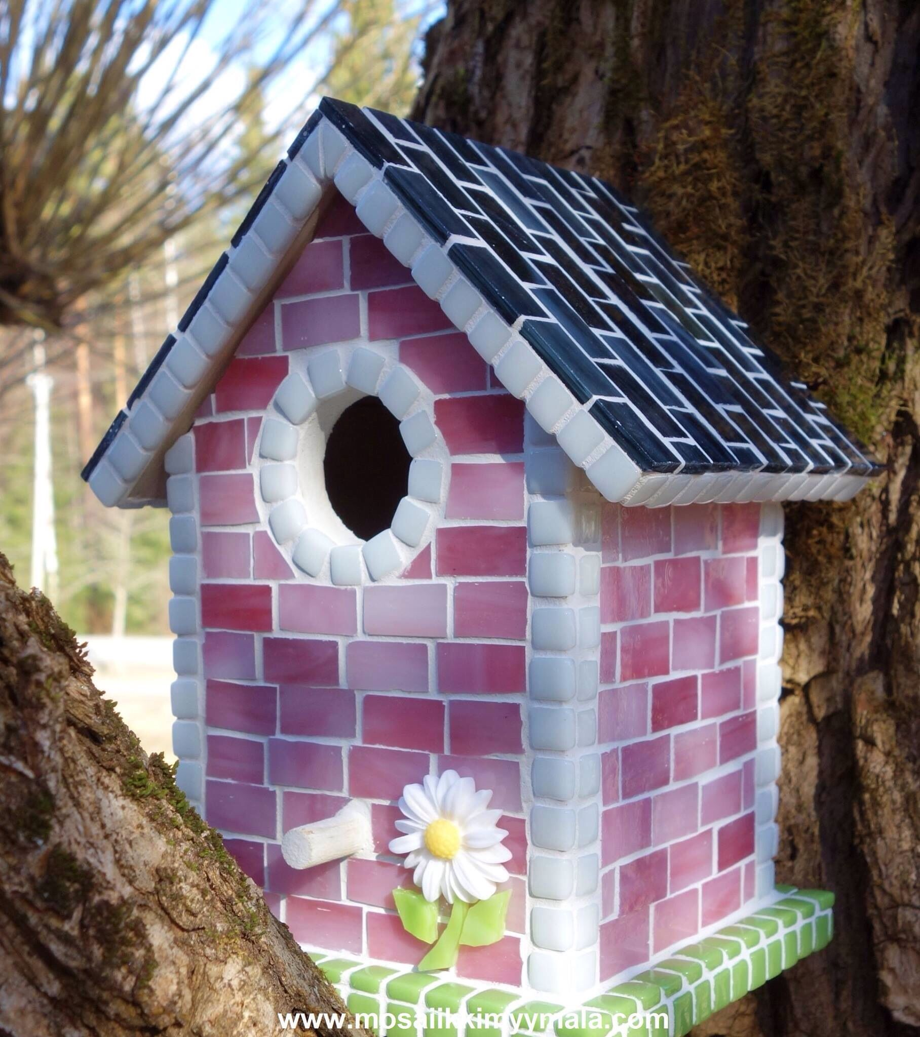 Casita Bird Houses Mosaic Birds Bird House