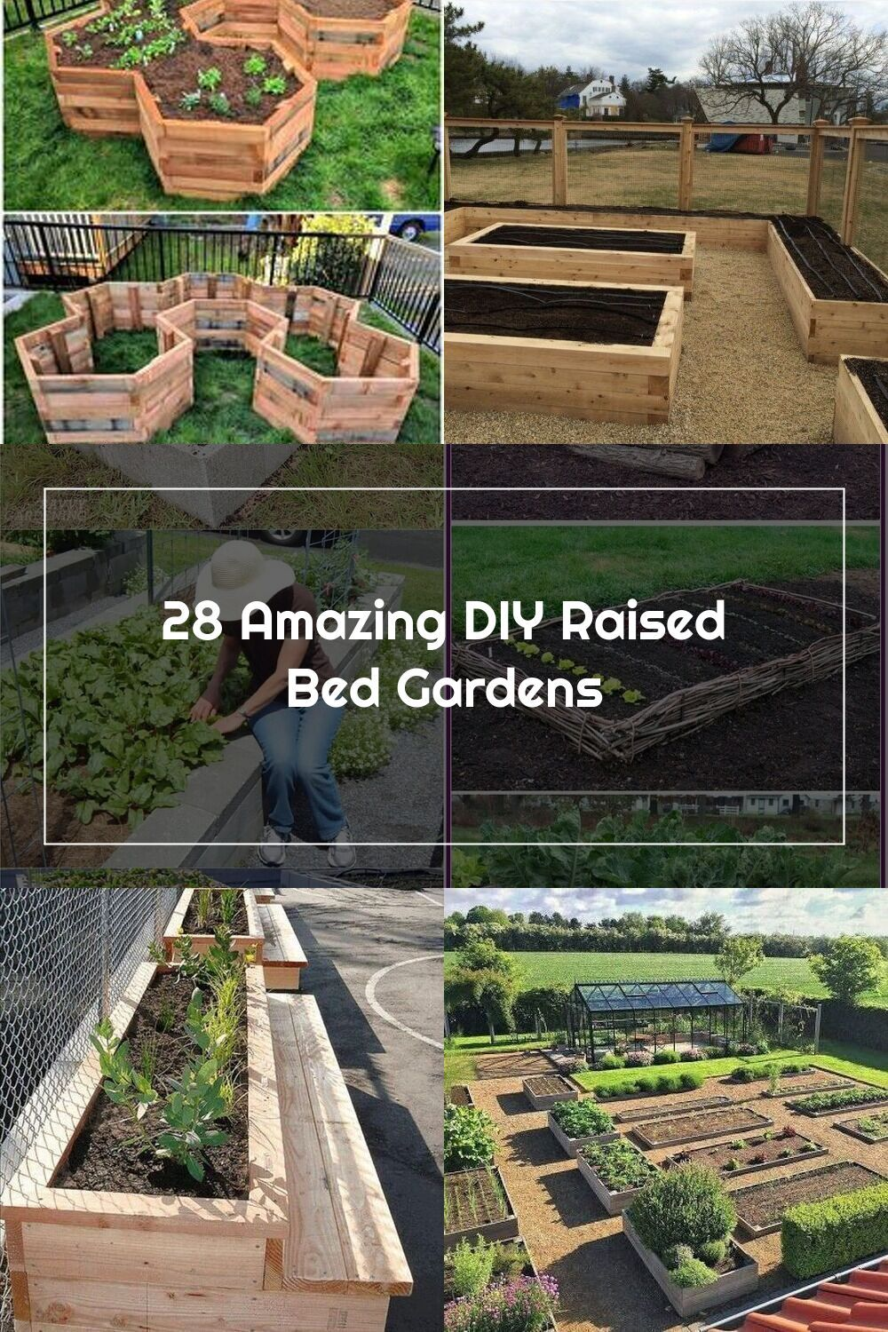 28 Best DIY raised bed gardens, easy to build using ...
