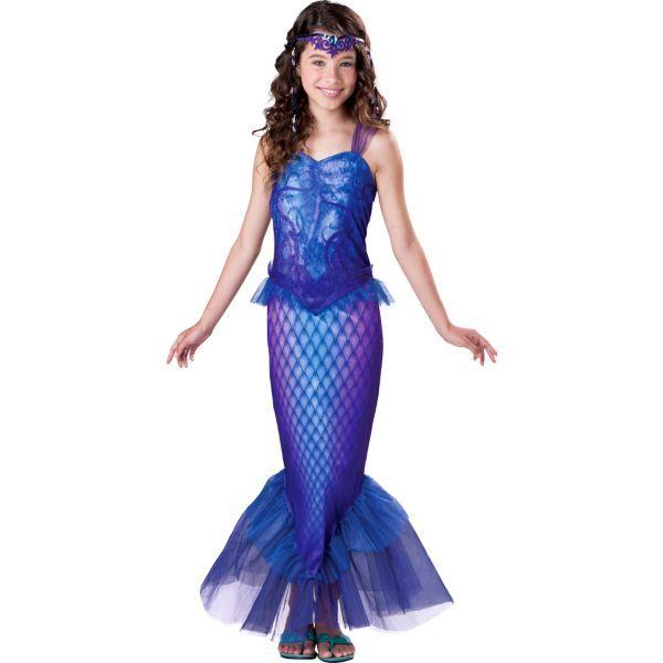 Girls Mysterious Mermaid Costume Halloween Pinterest Mermaid - halloween costume girl ideas