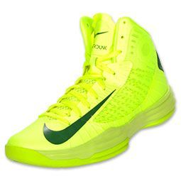 Fluorescent Yellow Neon Nike Sneaker