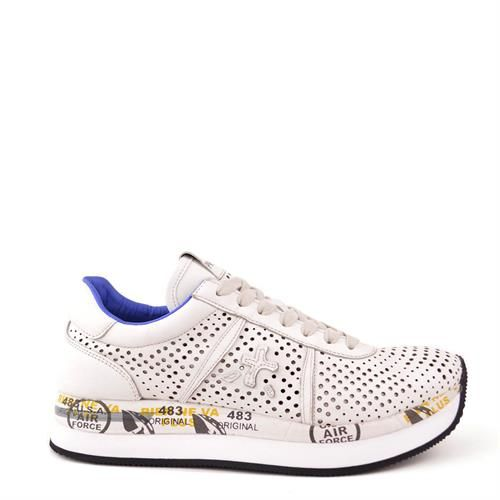 Premiata Conny Chaussures Blanches Pour Les Hommes 6ZMGyL4