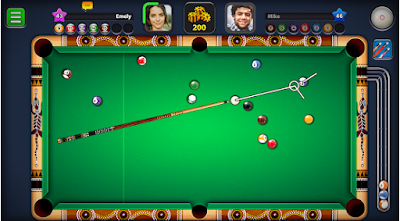 8 Ball Pool Mod Apk Download V4 8 5 All Features Unlocked Long Lines Pool Balls Play Pool Pool Games
