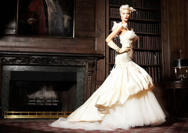 Terry Fox Bridal - Autumn / Winter 2011 Avant Garde Wedding Dresses | OMG I'm Getting Married UK Wedding BlogUK Wedding Design and Inspiration for the fabulous and fashion forward bride to be.