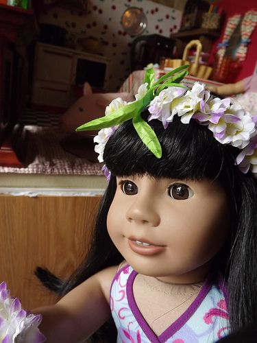 Hawaiian girl. | American Girl Doll Just Like You 11 we named her ...