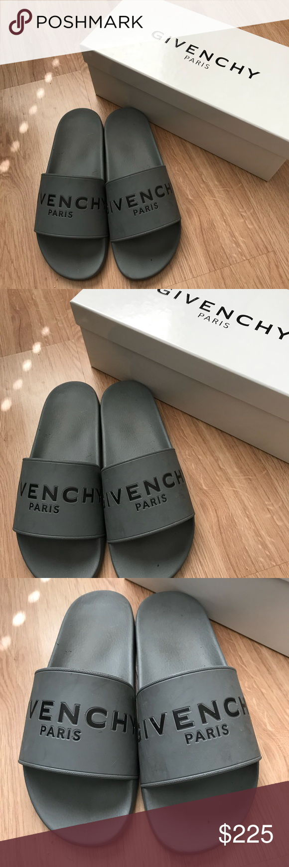 Men S Givenchy Slides Givenchy Shoes Givenchy Givenchy Slides