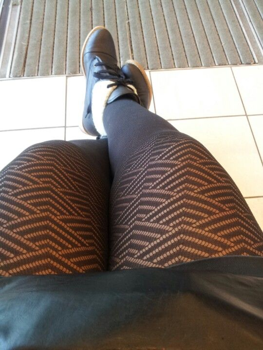 Tights and boots!