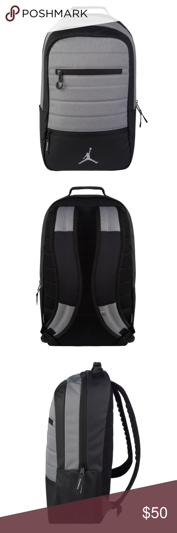 4c428f7b354f Nike JORDAN AIRBORNE Backpack A sport backpack that can transition from the  gym to class