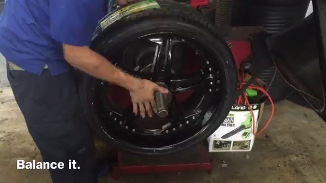 Low Profile Tire Mounting