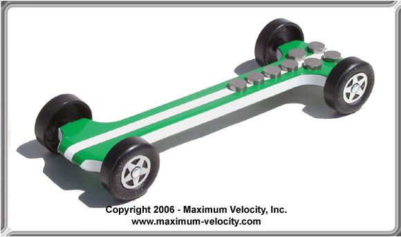 Extended Detonator Pinewood Derby Car Design My Style Pinterest