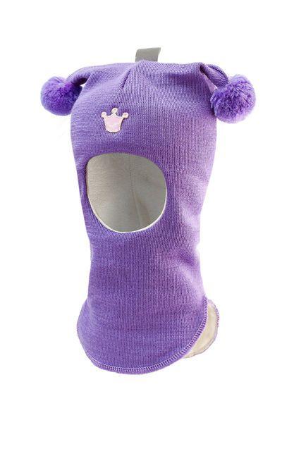 """Шлем детский зимний """"Лисичка"""" для девочки (шапка детская ..."""