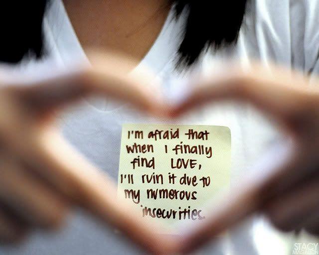 Iu0027m Afraid That When I Finally Find Love,
