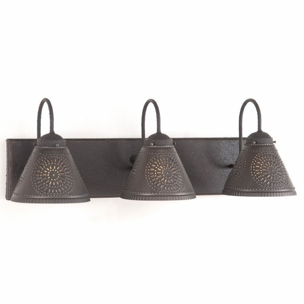 primitive lighting fixtures. Wood \u0026 Metal Primitive Vanity Light Rustic Wall Fixture With Punched Tin Lamp Shades This Stunning Country Will Most Certainly Become Lighting Fixtures I