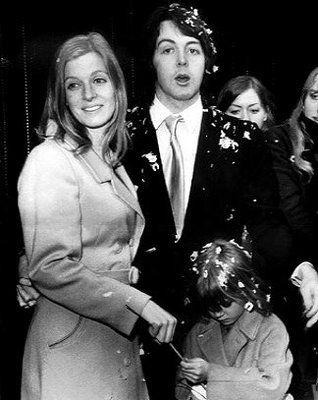 Sir Paul And Linda Eastman In 1969