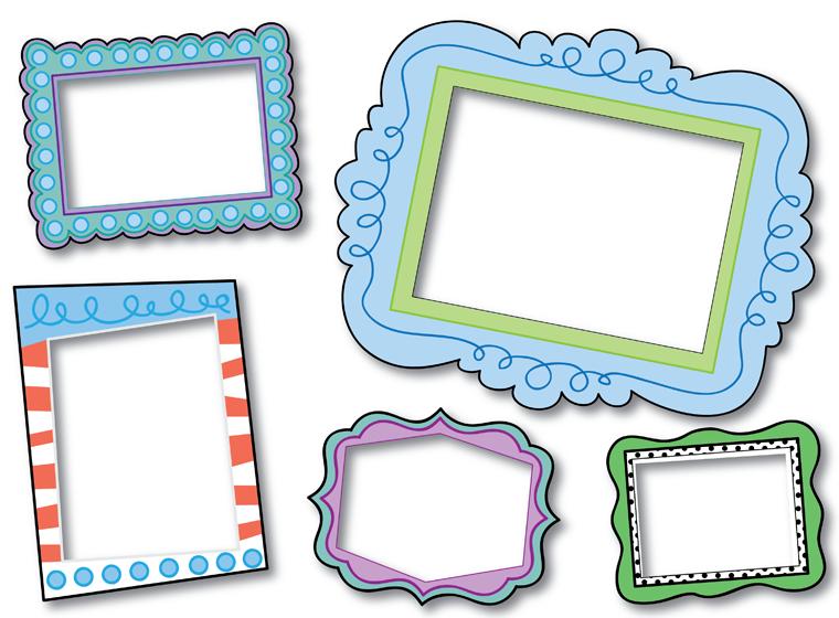Ideas For Home Hobby Printable Classroom Decor Frame Printable Frames
