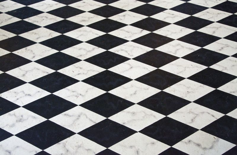 A Black And White Checked Floor Clippix Etc Educational