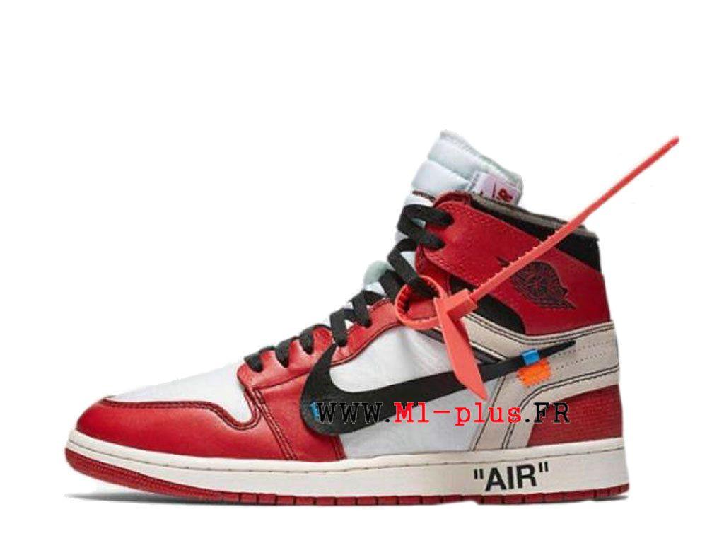 Off White x Air Jordan 1 Prix Chaussure de BasketBall Pas