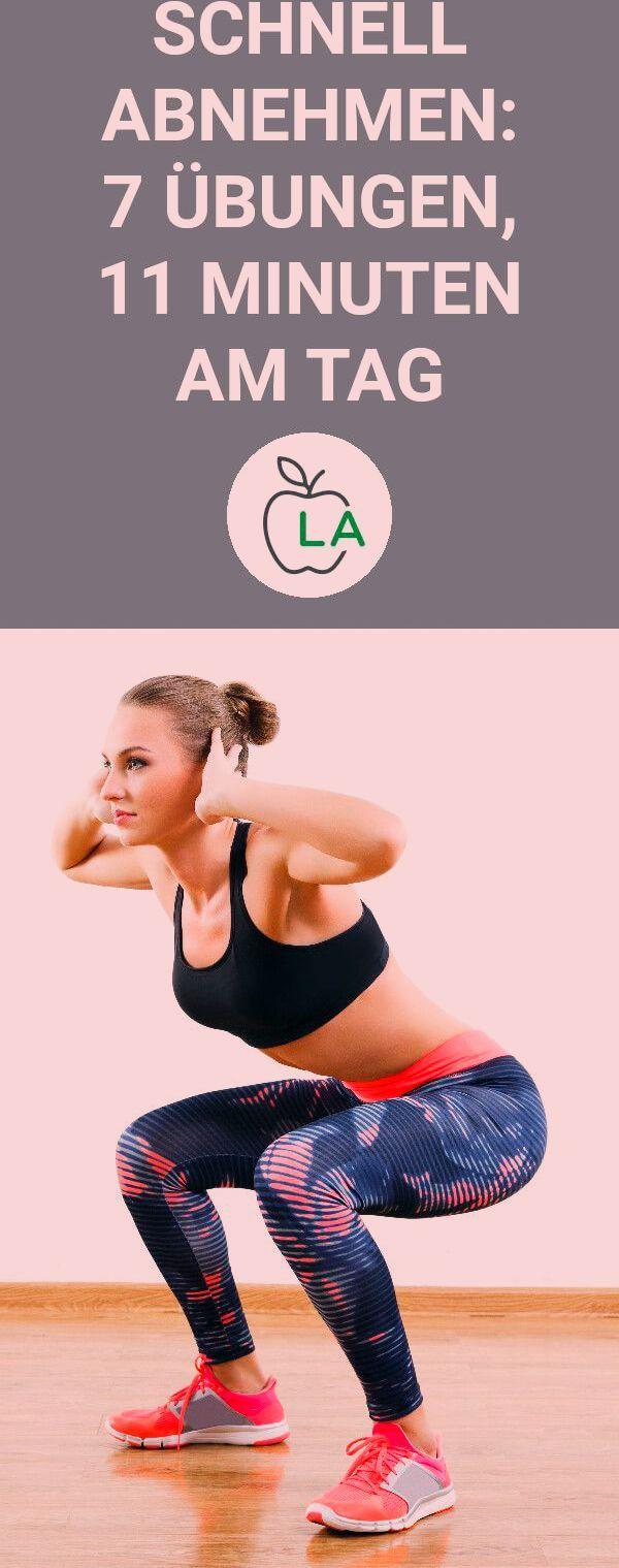 Schnell abnehmen mit 7 effektiven Übungen. In diesem Beitrag zeigen wir dir einen Trainingsplan mit...