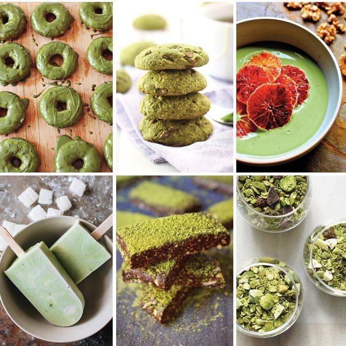 20 Healthy Recipes With Matcha Green Tea In 2019