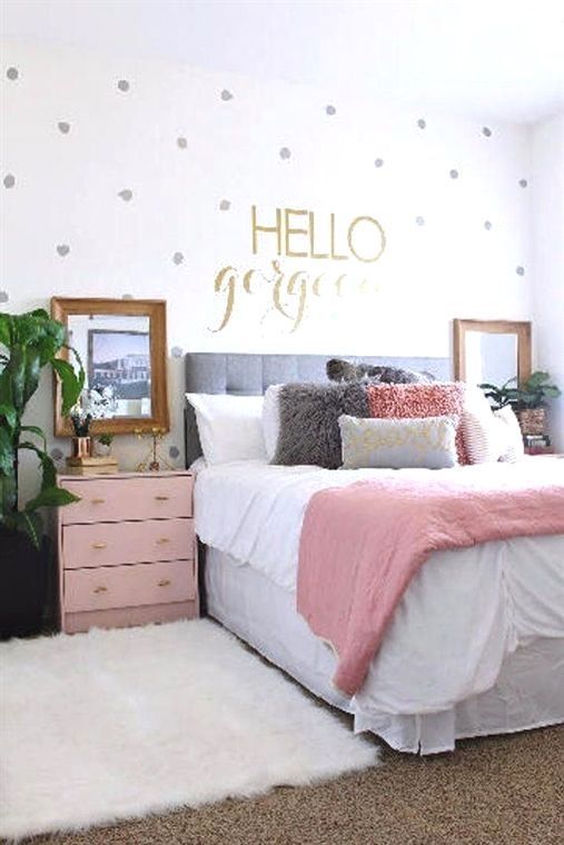 This Hello Gorgeous Hello Beautiful Or Hello Handsome Available On The Drop Down Menu Decal Is Room Design Bedroom Small Room Design Bedroom Bedroom Design