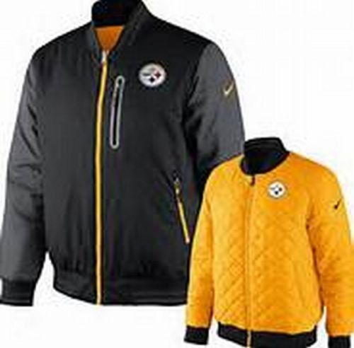 356fd8cd2 Pittsburgh Steelers NFL Nike Destroyer Reversible Jacket NWT Football new  with tags  PittsburghSteelers  Steelers  SteelCurtain  Nike   NikeDestroyerJacket ...
