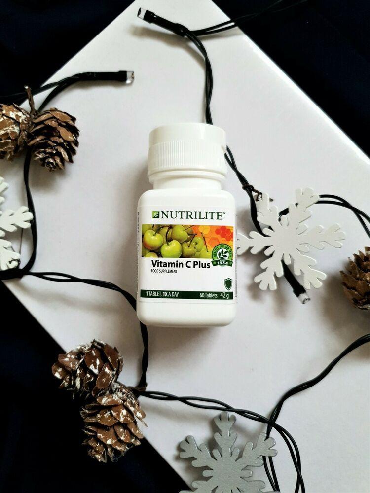 Details About Vitamin C Plus Nutrilite Amway Nutrient 60 Tablets
