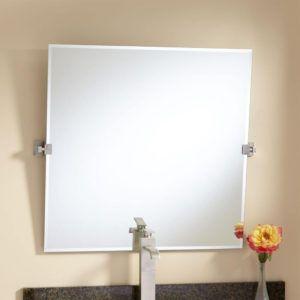 Square Tilting Bathroom Mirror