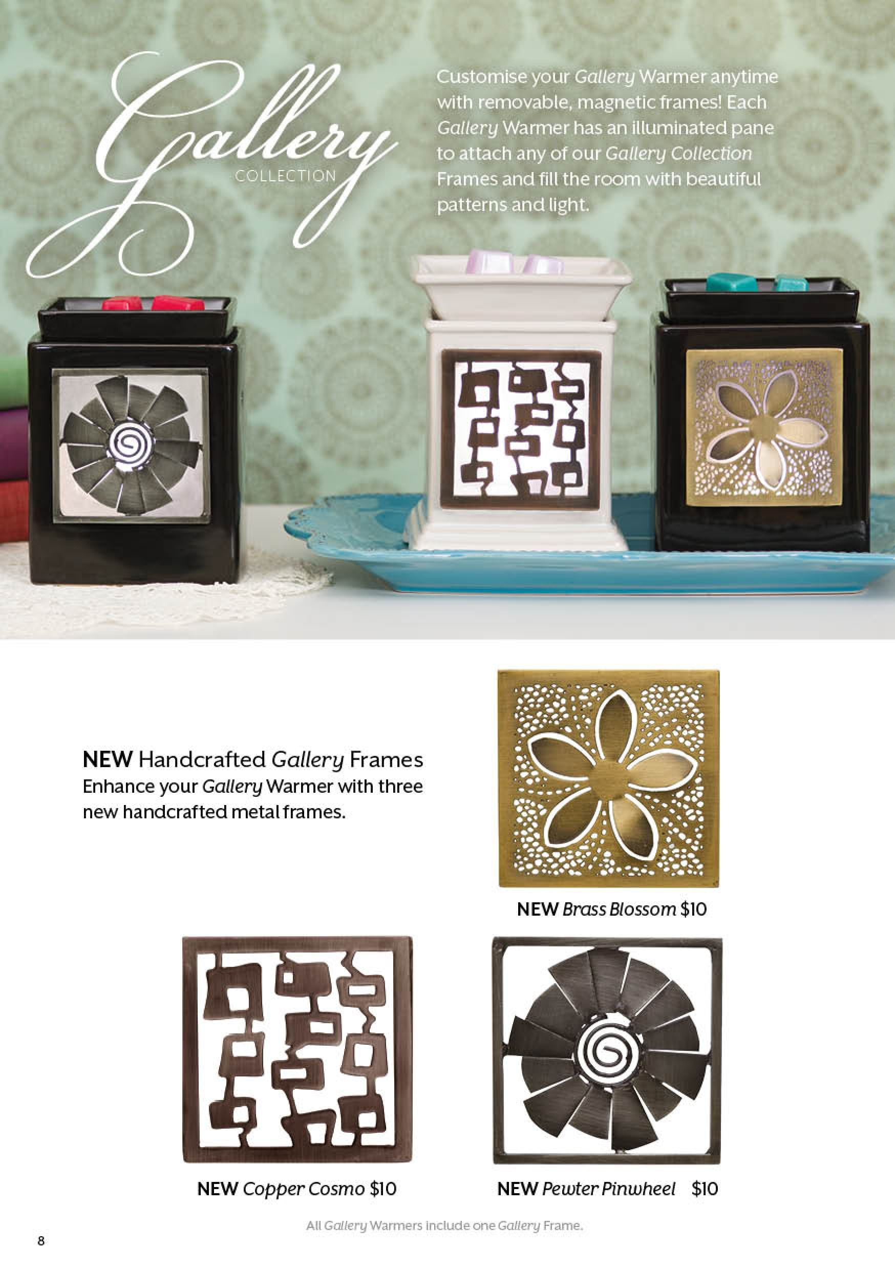 Gallery Collection check out at www.rebecca2103.scentsy.com.au ...