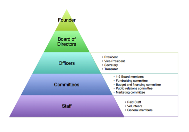 Non Profit Board Of Directors Structure  Google Search  Gt
