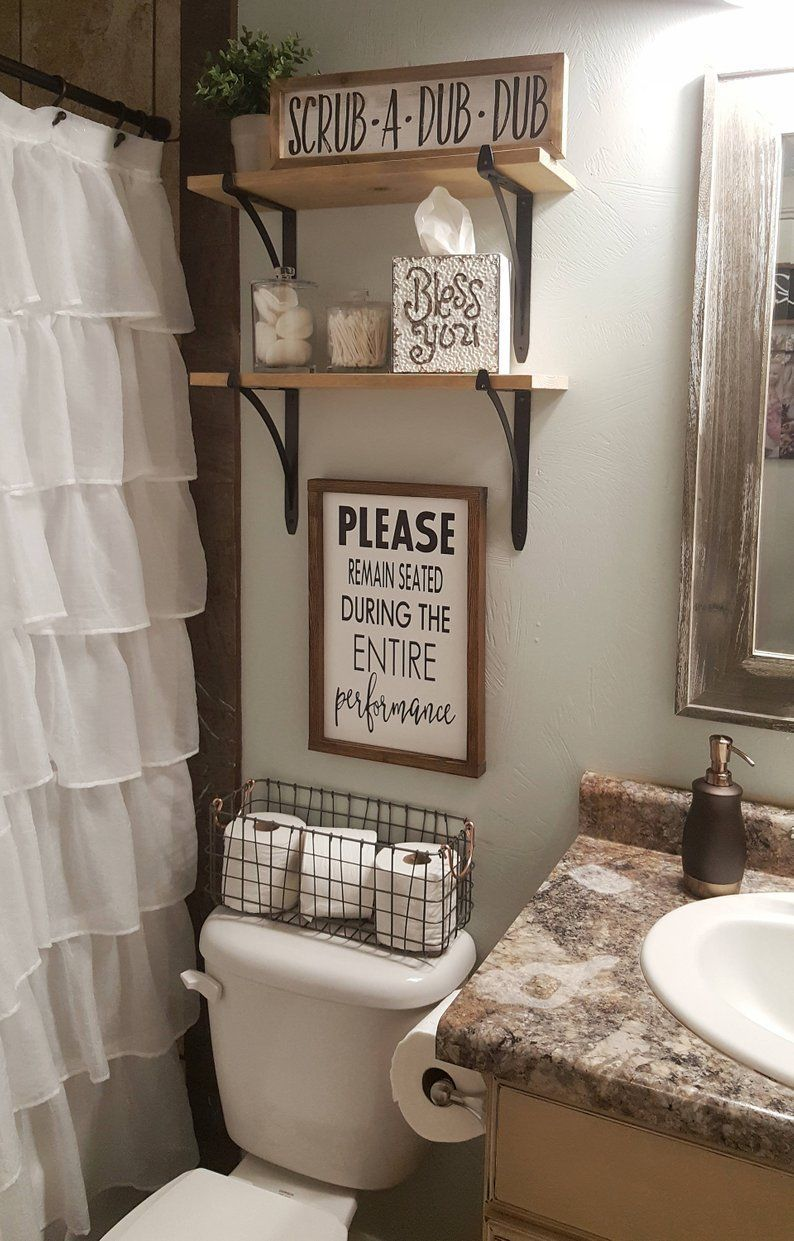 Please Remain Seated During Entire Performance Wood Signs Bathroom Decor Funny Bathroom Sign Over The Toilet Sign Farmhouse Sign Small Bathroom Decor Rustic Bathroom Decor Restroom Decor