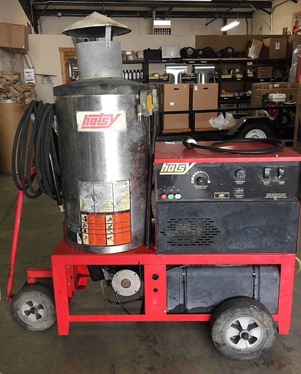 Used Hotsy 990ss Electric Hot Water Pressure Washer 1 109 049 0