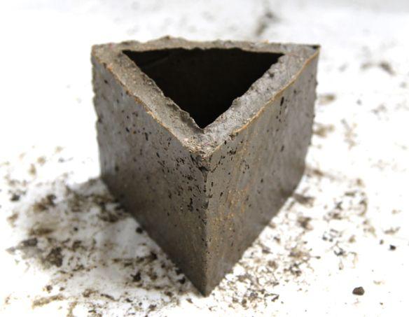 Diy Make Concrete Planters A Piece Of Rainbow Concrete Planters Wall Planter Concrete Diy